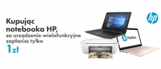 Drukarka HP gratis do laptopa i notebooka HP w promocji VOBIS!