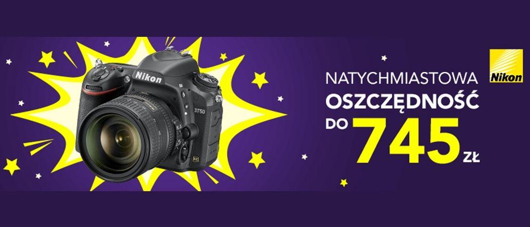 9c396c46288b82 Promocja NIKON w RTV EURO AGD - kup aparat lub obiektyw nawet do 745 zł  taniej!